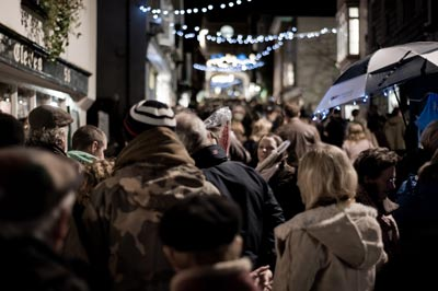 totnes christmas late night shopping market